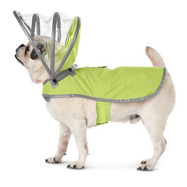 The Canine's Raincoat - Hammacher Schlemmer