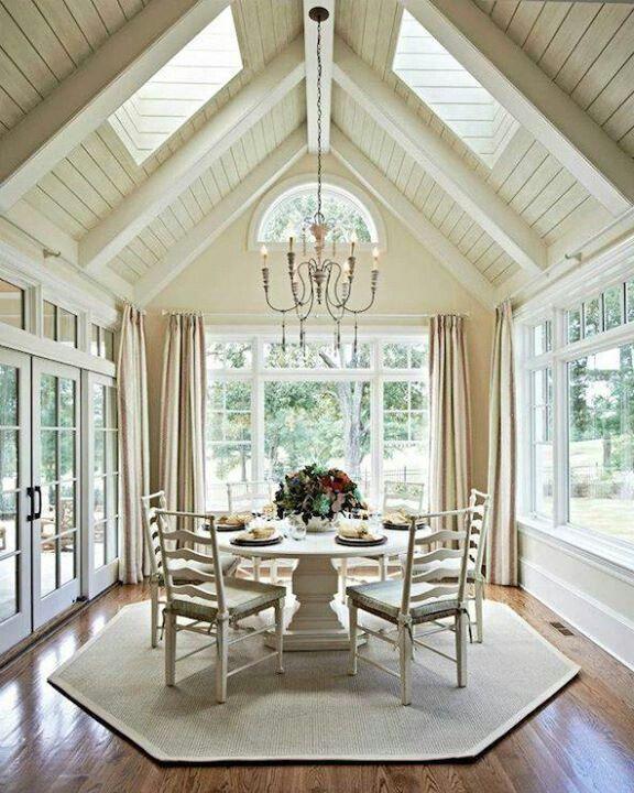 Best 25 enclosed carport ideas on pinterest enclosed for Sunroom breakfast nook