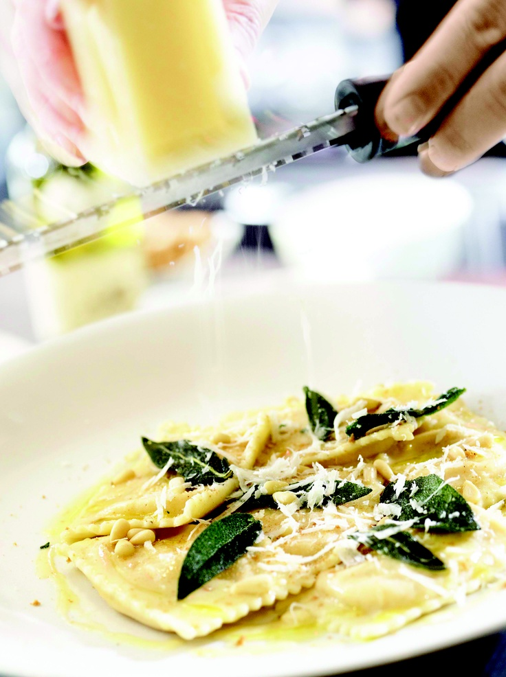 Rob Feenie's Famous Butternut Squash Ravioli from the Cactus Club, Vancouver