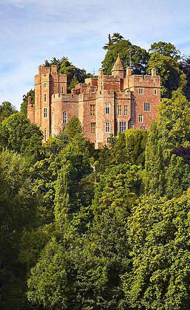 Dunster Castle in Somerset, England
