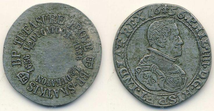 BP Treasure Trove  Veldpond Koban / Koban Rixdollar 1696 / Riksdaalder 1696 1/2 Half Ducatoon 1656 / 1/2 Dukaton 1656 Piece of Eight C1620 / Spaanse Mat C1620