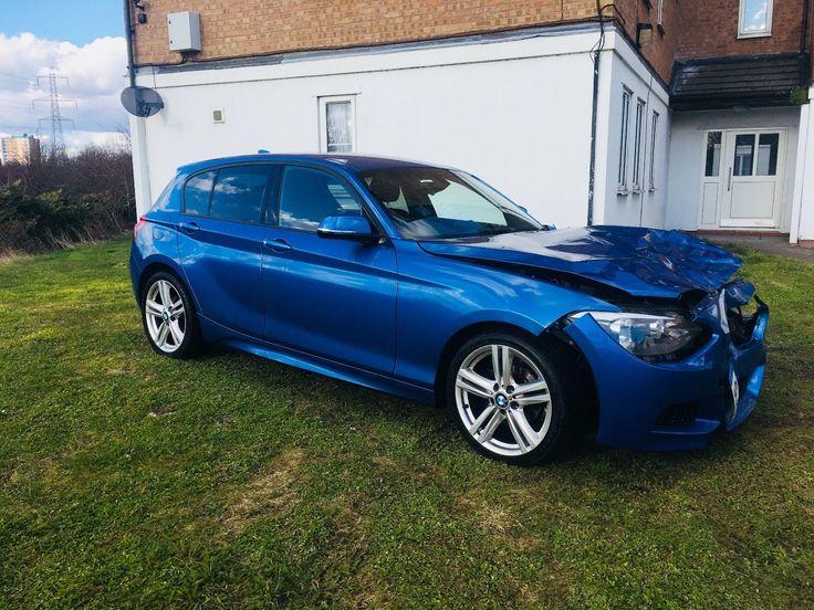 eBay: 2013 BMW 116i M Sport Auto Salvage Damaged Repairable Automatic 1 series #carparts #carrepair