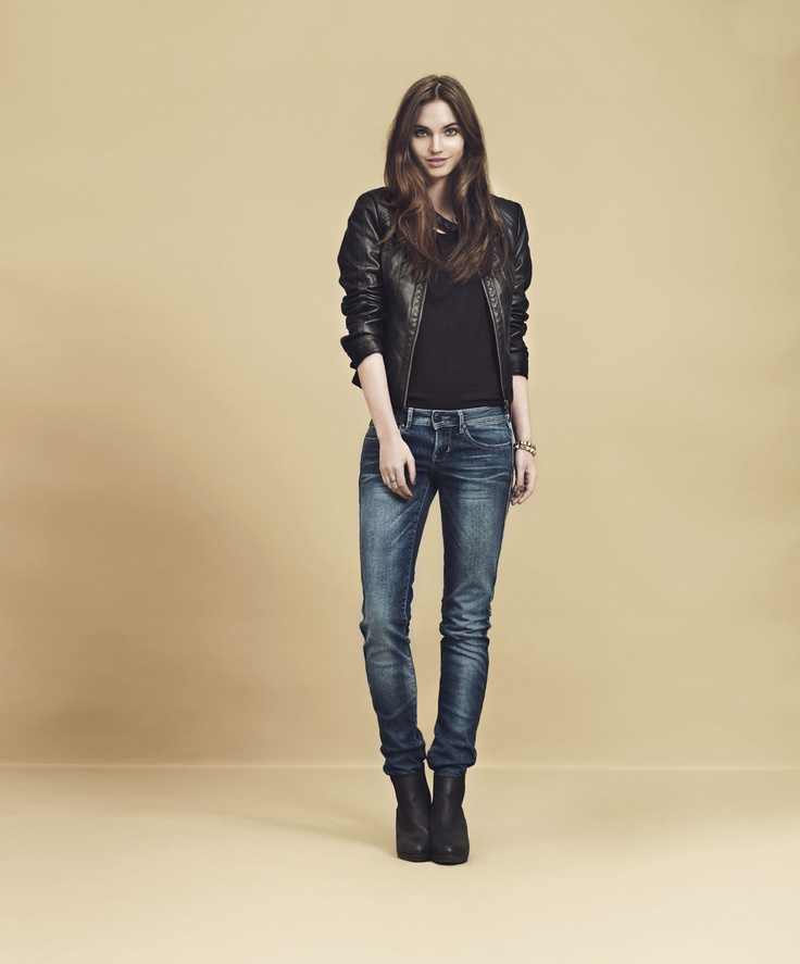 Only jeans damen straight low auto