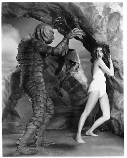 """Classic Movie Monsters, 1954 """"Creature of the Black Lagoon."""""""