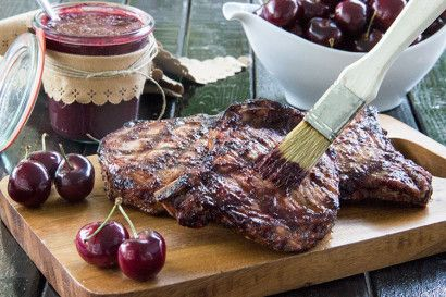 A homemade barbecue sauce that gets its sweet, distinctive flavor from cherries. Perfect for grilled chicken or pork. Homemade, made easy!