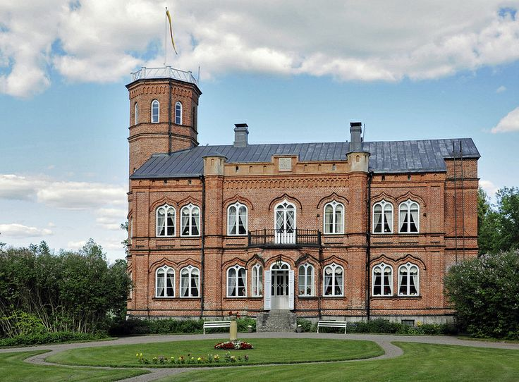 Manor house of Tjusterby in Loviisa, Finland | Tjusterbyn kartano 1863-1867 in Loviisa by smerikal/flickr