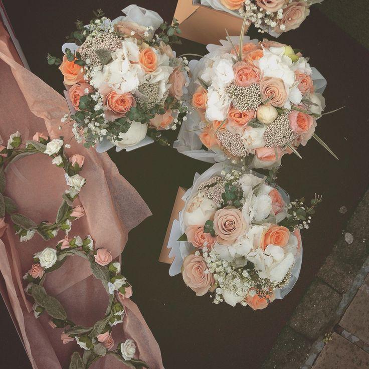 Bride, bridesmaid, halos <3