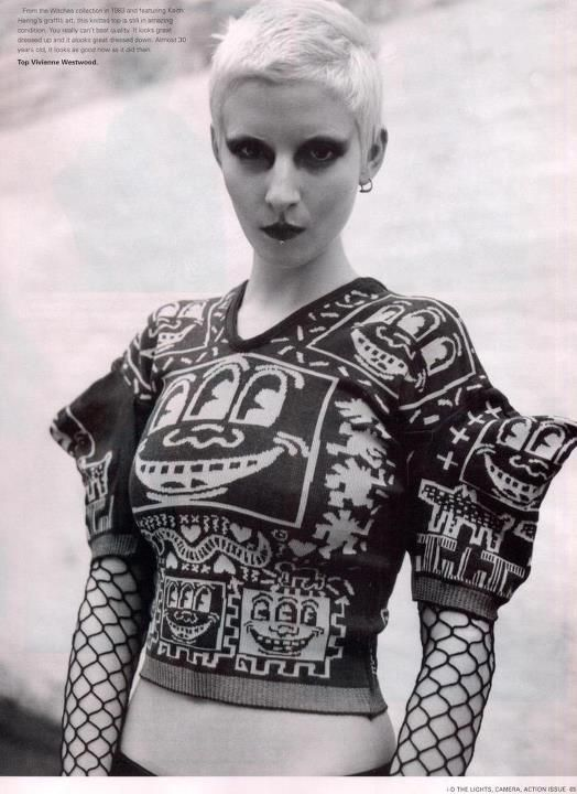 413 Best 1980s Fashion Subcultures Underground And Alternative Plus Designers Images On