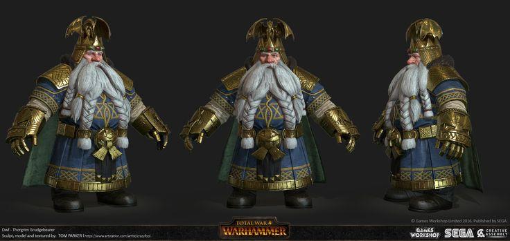 ArtStation - Total War : Warhammer - Thorgrim, Tom Parker