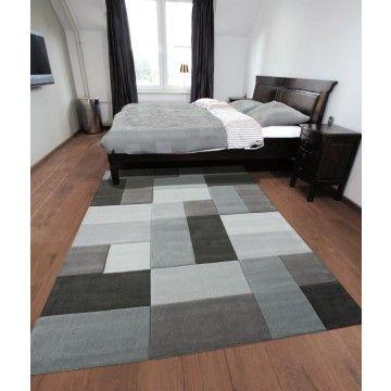 alfombra moderna reflective gris ambar muebles deco alfombras http