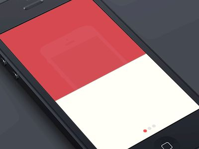 Dribbble - Inspired [GIF] by Mariusz Ciesla #UImotion
