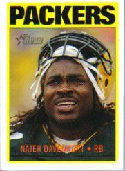 2005 Topps Heritage #107 Najeh Davenport by Topps Heritage. $0.39. Football Card