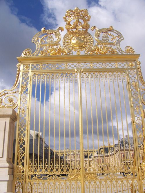Gate detail, Palace of Versailles