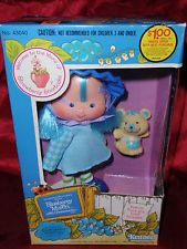MISB Vintage 1982 Strawberry Shortcake's Blueberry Muffin Doll with Cheesecake
