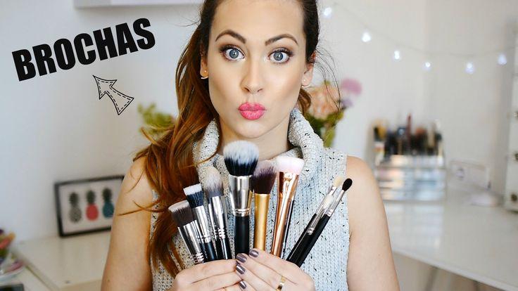 Brochas de Maquillaje: Tipos, Cómo usarlas, Mis favoritas... | Lizy P