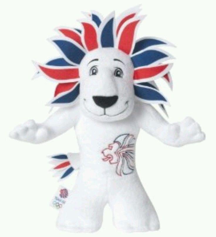 "Rio 2016 Olympics Official TEAM GB Mascot Lion ""Pride"" 30cm Plush Soft Toy NEW    eBay"