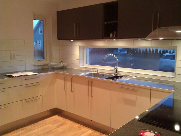 Kök kök med : vitt kök med fönster - Sök pÃ¥ Google | Kök | Pinterest | Search