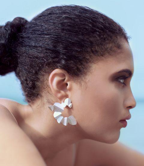 paper & scissors earrings - Kaja Gjedebo Jewelry Design www.kgd.no
