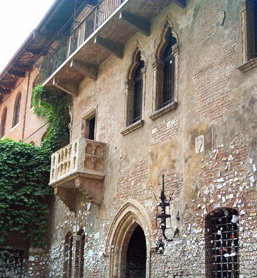 Juliette's balcony - Verona, Italy (been)
