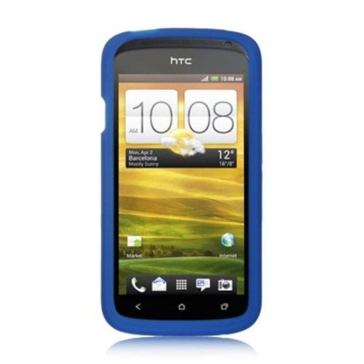 Insten Silicone Skin Gel Rubber Case Cover For HTC One S #2292470