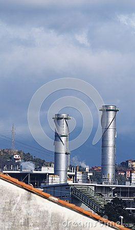Chemical plant by Leon Viti, via Dreamstime