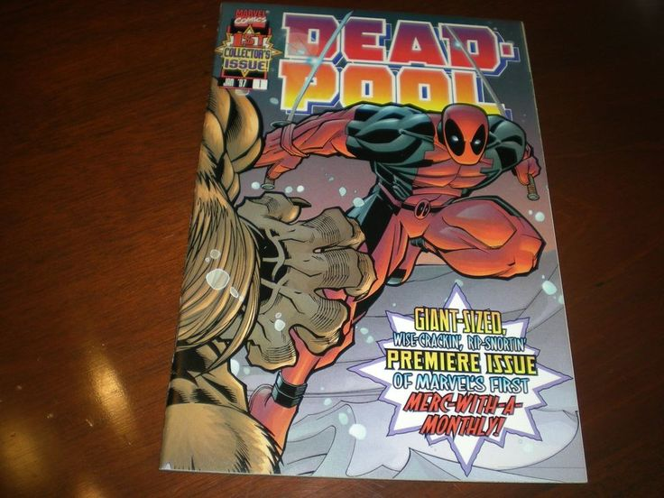 Deadpool 1 (1997 1st Series), Collectors Issue, Marvel, Movie Coming Soon C13