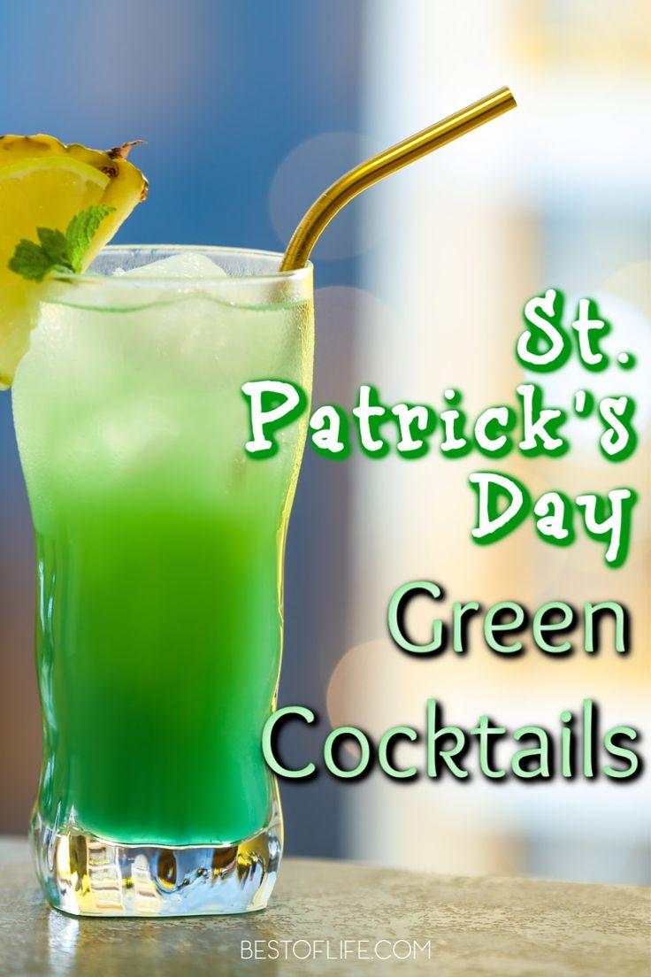 Green cocktails for st patricks day green cocktails st