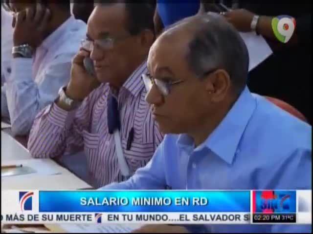 Sindicalistas Dicen Que El Salario Mínimo Del País Es Vergonzoso #Video