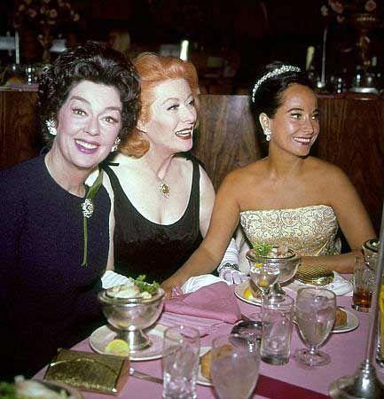 Rosalind Russell, Greer Garson & Merle Oberon (circa 1960's)