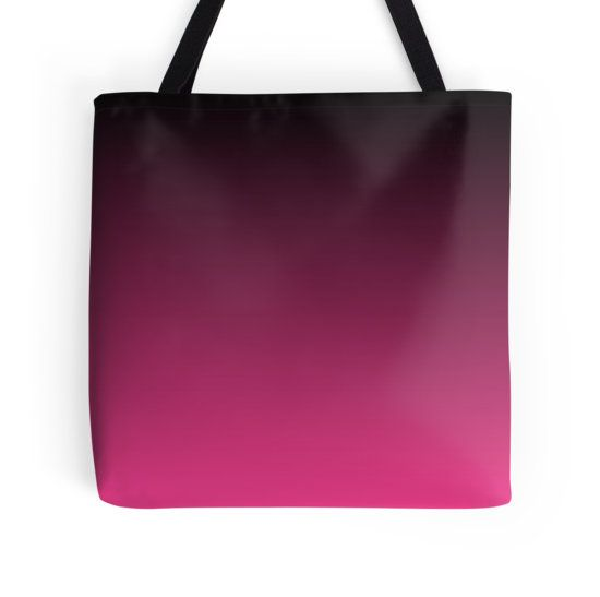 Black To The Fuchsia Tote Bag - Available Here: http://www.redbubble.com/people/rapplatt/works/17047056-black-to-the-fuchsia?p=tote-bag