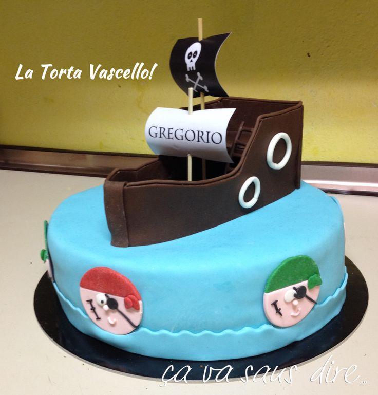 Torta Vascello