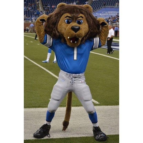 Detroit Lions Mascot Roary Mascot Costume In 2019 Mascot
