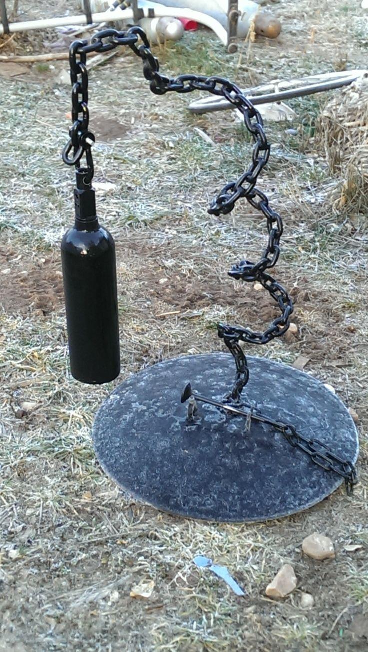 Oxygen Tank Bell Custom Metal Bells By Jonathan Murdock
