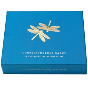 Louis C. Tiffany Dragonflies Correspondence Cards - Stationery & Calendars - The Met Store