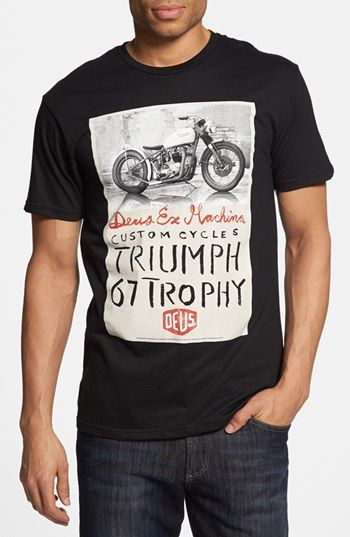 Deus Ex Machina 'Triumph Trophy' Graphic T-Shirt available at #Nordstrom