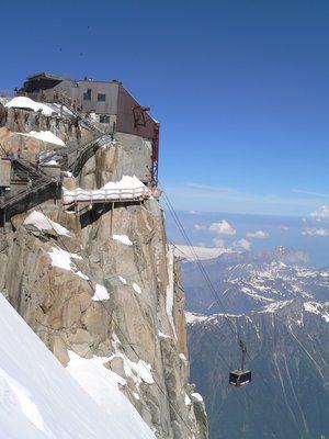 Cable Car - Téléphérique de l'Aiguille du Midi Chamonix (Vallée Blanche)