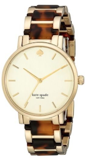 love this tortoise shell kate spade watch