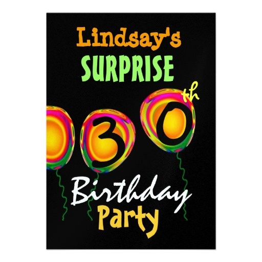 17 Best Images About Surprise 30th Birthday Party! On