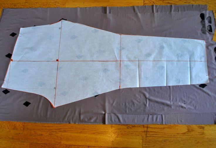 mallikelpoinen: leggingsien kaavojen piirtäminen