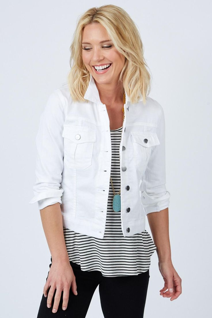 Best 25  Short sleeve jean jacket ideas on Pinterest | Neutral ...