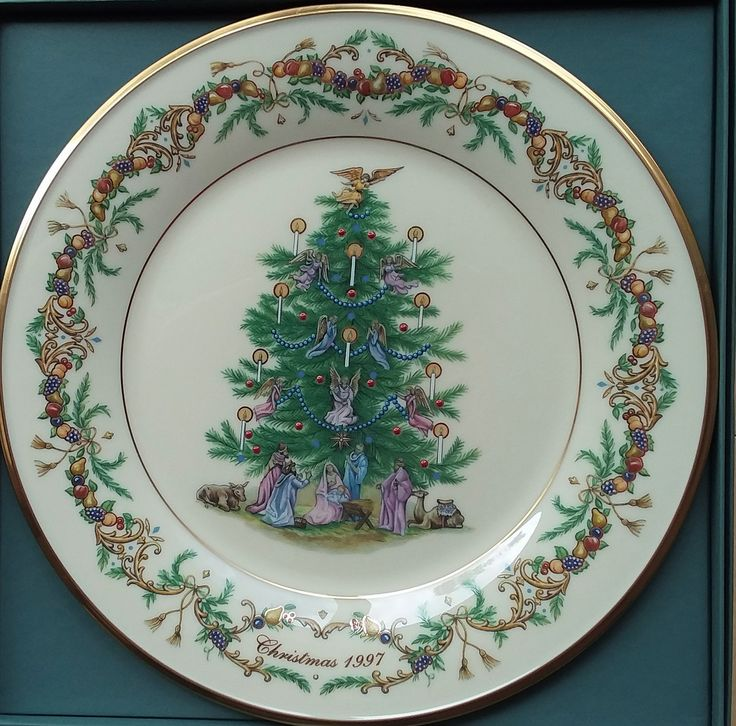 Lenox Limited Edition Series Christmas Trees Around The