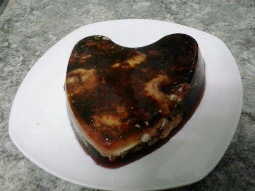 Tarta de queso con gelatina dukan