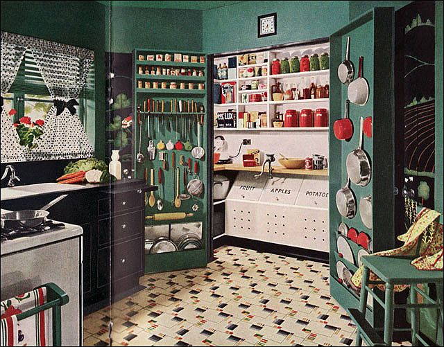 1945 Armstrong Kitchen | Flickr - Photo Sharing!