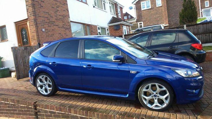 blue ford focus st mk2 facelift fordfocusstclub focus ford st mk2 ford ford motorsport. Black Bedroom Furniture Sets. Home Design Ideas