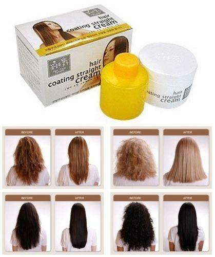 Coating Magic Straight Cream Hair Straightening Cream Permanent Rebonding