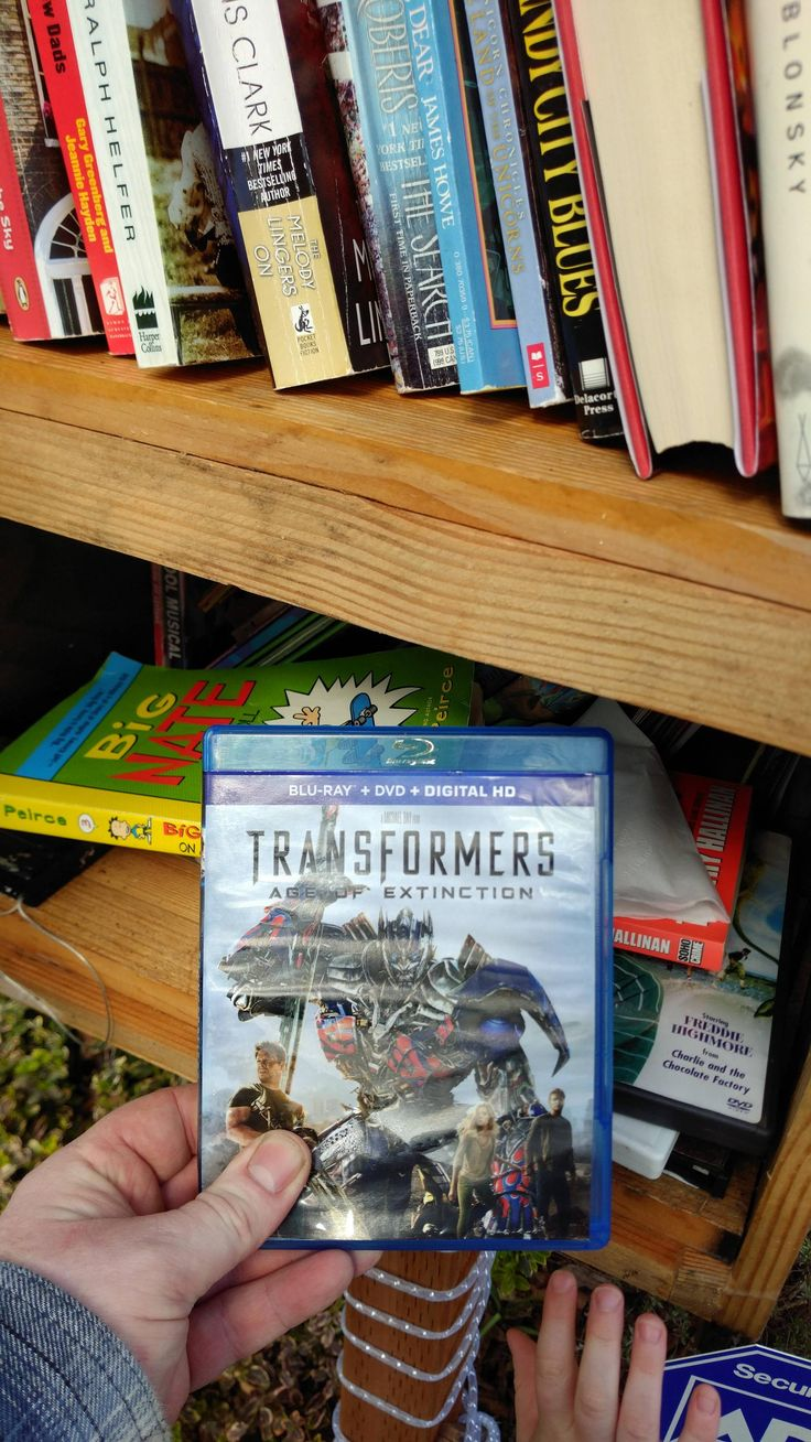 Transformers Extinction is so bad I've had the Blu Ray in our community library for free and there's no takers. http://ift.tt/2nPgP3K #timBeta