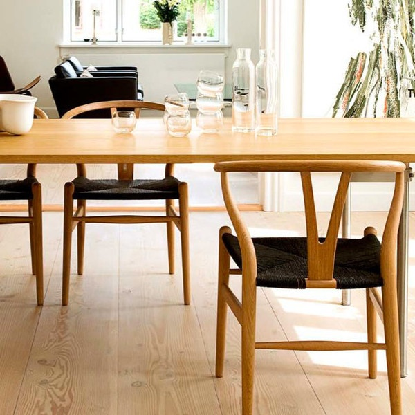 84 best Wegner Wishbone Chair images on Pinterest Contemporary