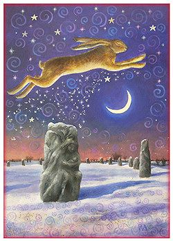 Winter Solstice Magick by Wendy Andrew