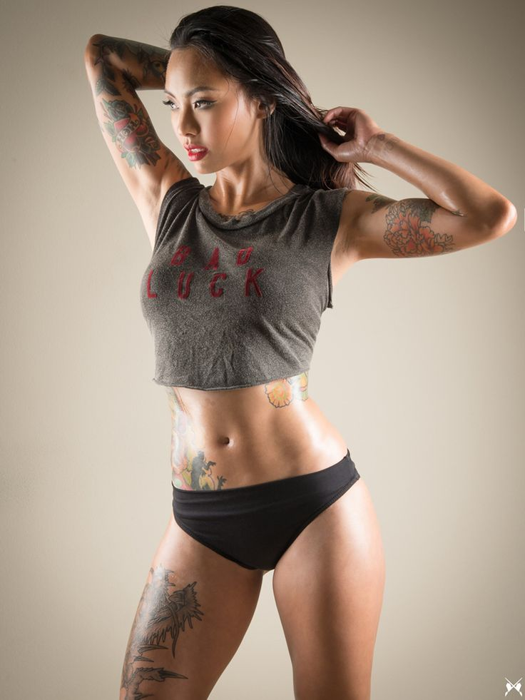 nude fine tattooed bitches