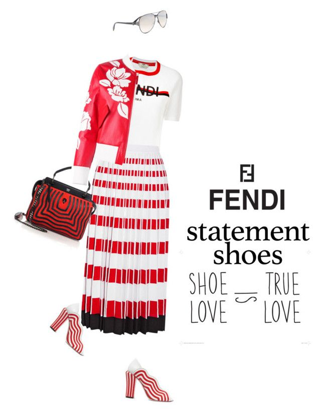 Fendi #553 (TFS 29-3-17) by meryflower on Polyvore featuring polyvore, fashion, style, Fendi, clothing, fendi and statementshoes